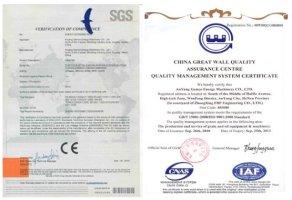 Anyang-Certificates